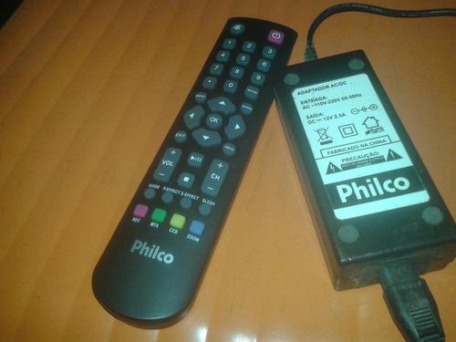 Controle E Fonte Original Da Tv Lcd Philco Ph 16d20d