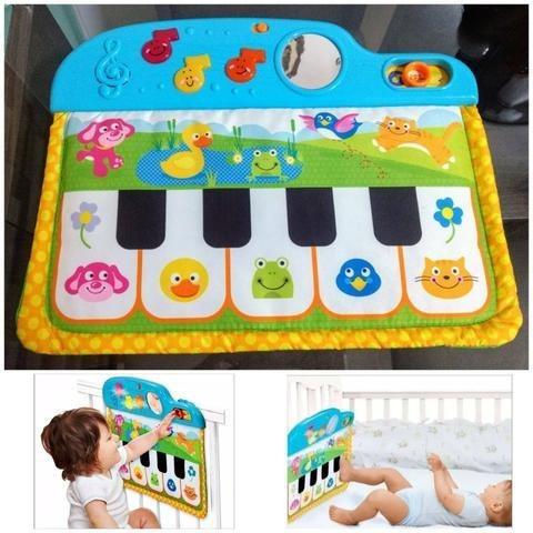 Mobile Piano Musical De Berco Com Melodias Espelho E Sons Wi