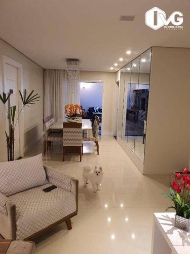 Imagem 1 de 24 de Cobertura Com 3 Dormitórios À Venda, 151 M² Por R$ 1.550000- Jardim Flor Da Montanha - Guarulhos/sp (porteira Fechada) - Co0023