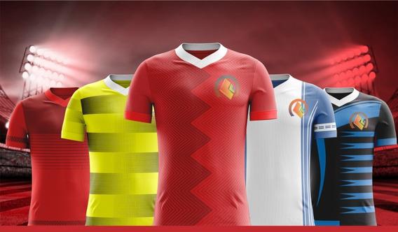 Pacote De Camisas De Futebol Para Sublimação - Vetorizada