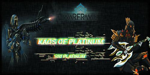 Imagen 1 de 1 de 500 Pl (platinum) Warframe // Kaos Of Platinum