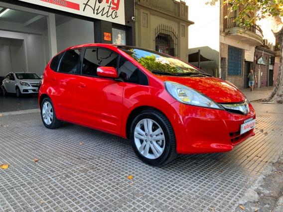 Honda Fit 1.5 Ex-l Automatico El Mas Full C/cuero Año 2014!!