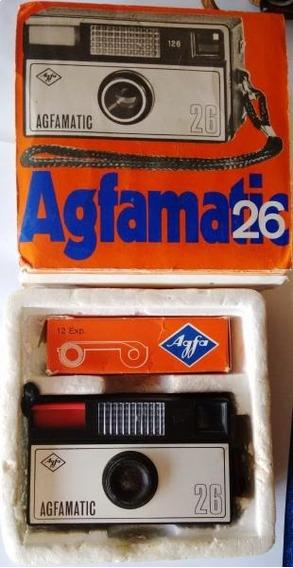 Máquina Fotográfica Agfamatic 26