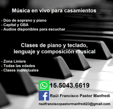 Clases De Piano Y Teclado En Liniers