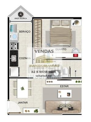Apartamento Para Venda, 1 Dormitórios, Jatiúca - Maceió - 1239