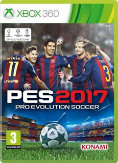 Pes 2017 Xbox 360 Original Multiregion Ntsc Lic