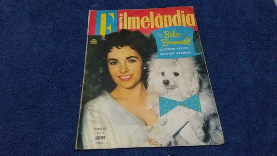 Revista Filmelandia 02 Jan/55 Tonia Carrero / Marilyn Monroe