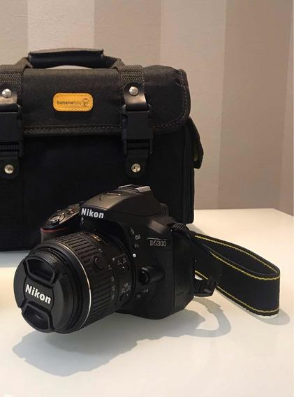 Câmera Nikon D5300 + Lente 18-55 + Cartão De Memória + Bolsa