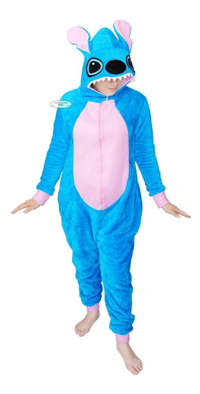 1 Stitch Pijama Mameluco Cosplay Peluche Traje Regalo Obsequ