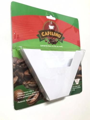 Cafelino - Porta Filtro De Café 100, 102 E 103 - Cor Branco