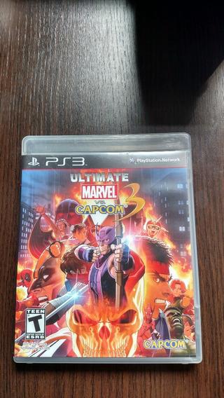 Marvel Vs Capcom 3 - Ps3 - Mídia Física