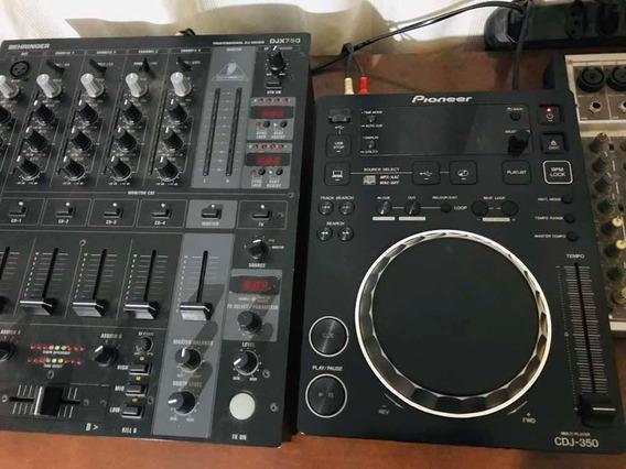 Cdj 350 + Mixer Djx 750