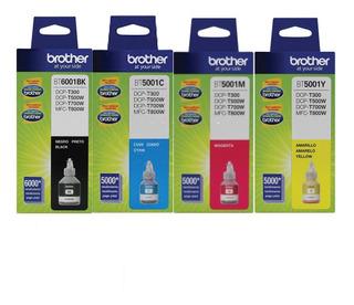Tinta Brother Bt6001 Bt5001 Impt300 T500 T700 Combo Orig