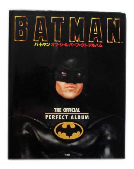 Artbook Batman 1989 The Official Perfect Album Capa Dura