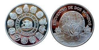 Moneda Conmemorativa De Chile De $ 10.000