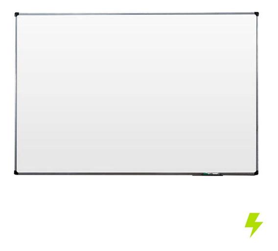 Lousa Quadro Branco Moldura De Aluminio 70x50 Cm Escolar
