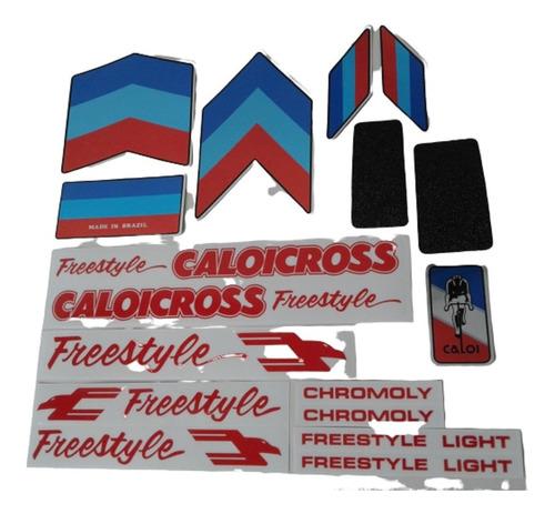 Adesivos Freestyle Com Lixas Caloi Cross Extra Light Nylon