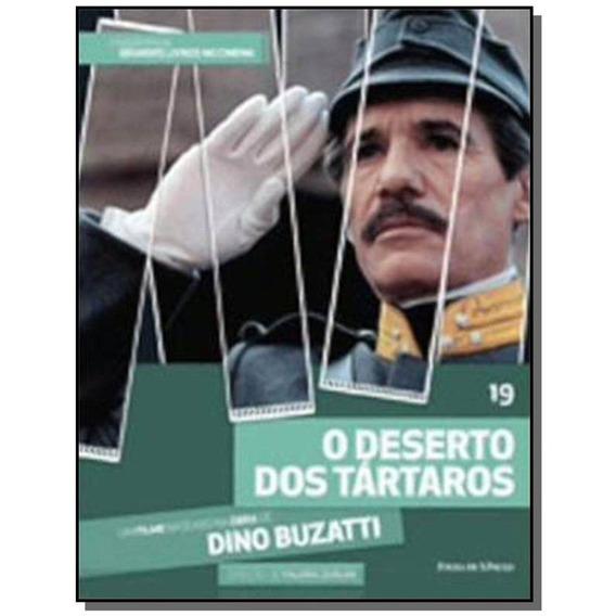 Dvd + Livro O Deserto Dos Tártaros - Buzzati - Vol 19