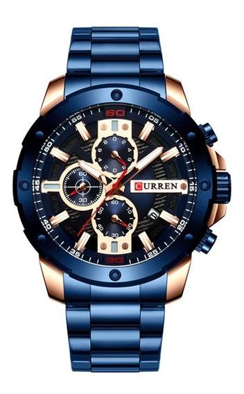 Reloj Curren Modelo 8337 Azul