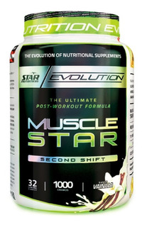 Musclestar 1 Kg Star Nutrition Post Entreno Creatina Glutamina Proteína