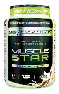 Musclestar 1 Kg Star Nutrition Post Entreno Creatina Glutamina Proteína
