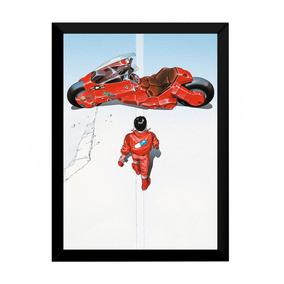 Quadro Decoração Pop Art Modernista Akira Moto 42x29cm