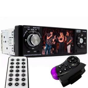 Mp5 Player Automotivo Veicular Bluetooth Fm Usb Tela 4 V75