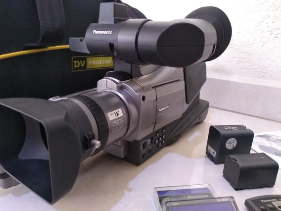 Filmadora Profissional Ag Dvc 7 Panasonic