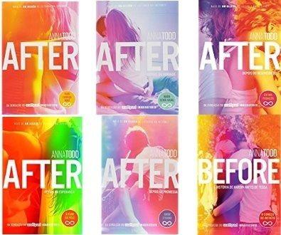 Coleção After - Anna Todd - 6 Livros