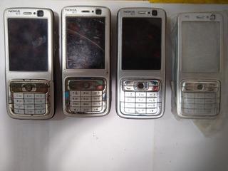 Lote De 3 Sucatas Nokia N73+carcaça N73
