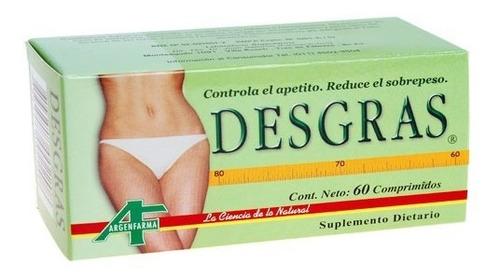 Desgras X 60 Comprimidos