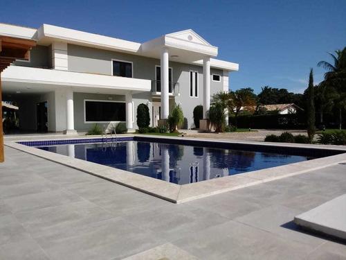 Imagem 1 de 28 de Casa Com 5 Quartos, 1050m2, À Venda - Portão - Lauro De Freitas - Cs-49