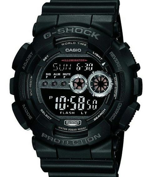 Relogio Casio G-shock Gd-100 Original, Na Caixa,2 Meses Uso