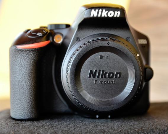 Camera Nikon D3500 + Lente Nikkor 18-55mm F/3.5-5.6 Vr
