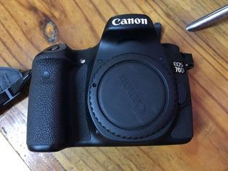 Cuerpo Canon 70d Impecable Remate