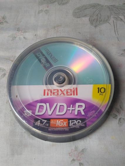Dvd+r Maxell 4.7 Gb 16x 120 Min
