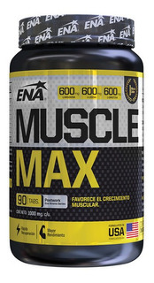 Muscle Max Ena X 90 Tabs Crecimiento Muscular Xtreme Series