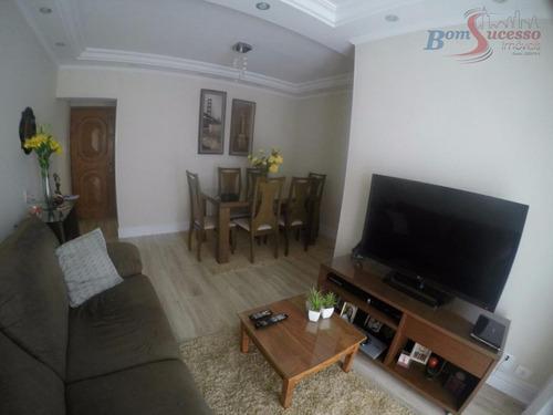 Imagem 1 de 24 de Apartamento Com 3 Dormitórios À Venda, 73 M² Por R$ 390.000,00 - Vila Ema - São Paulo/sp - Ap1019