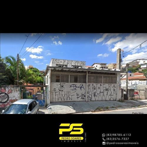 Imagem 1 de 1 de Galpão À Venda, 891 M² Por R$ 2.500.000 - Mooca - São Paulo/são Paulo - Ga0066