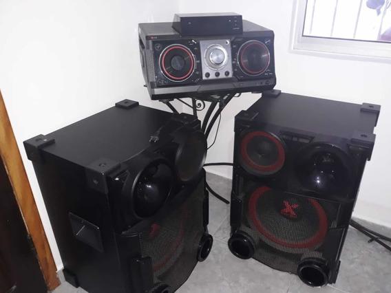 Som Mini System X Bomm Lg