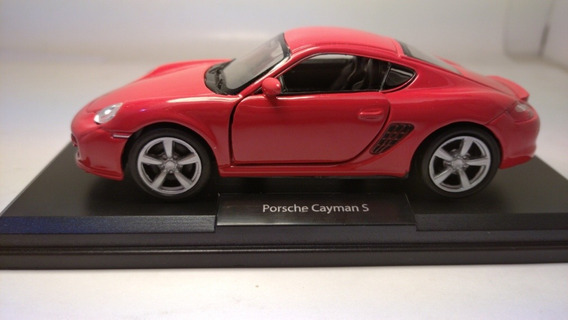 Porsche Cayman S Escala 1:36 Marca Welly Rosario