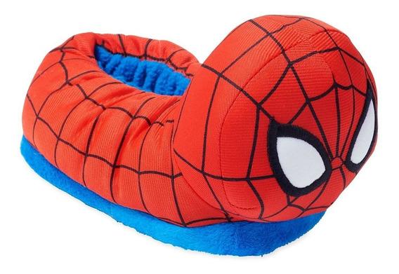 Pantuflas Niño Spider-man Hombre Araña Disney Store 9/10usa