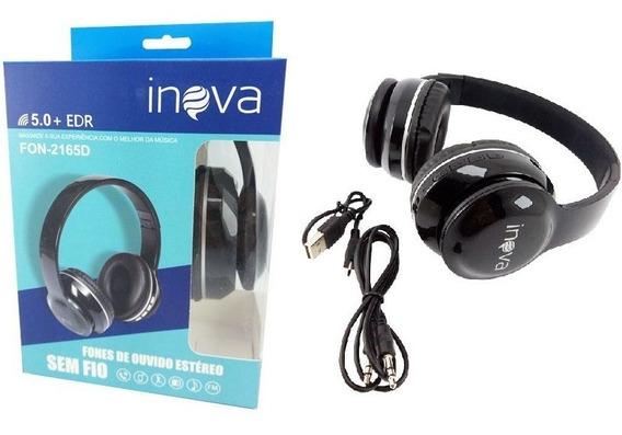 Fone De Ouvido Headphone Bluetooth Estéreo Inova 2165d