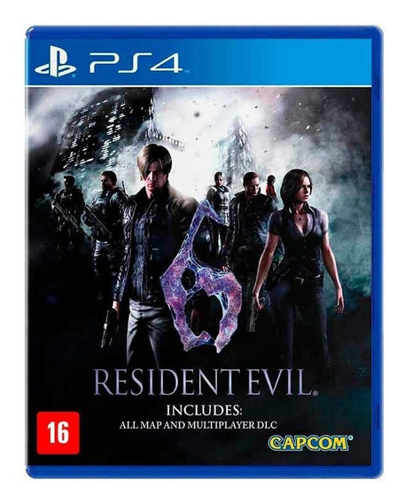 Resident Evil 6 - Ps4 - Mídia Física Lacrado