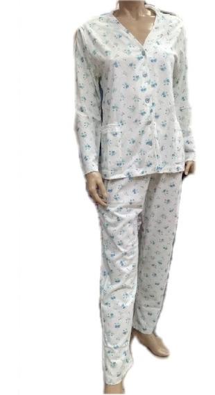 Pijama De Señora Abotonado Shine Heaven