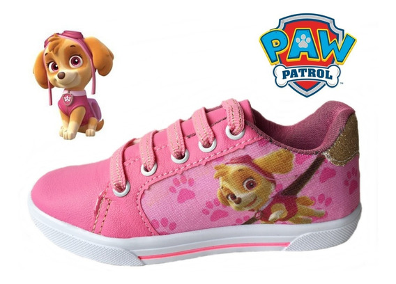 Tenis Infantil Patrulha Canina Skye Chase Minnie Lariba Cod9