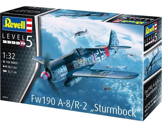 Avion Fw 190 A-8/r-2. The Sturmbock 1/32 Marca Revell
