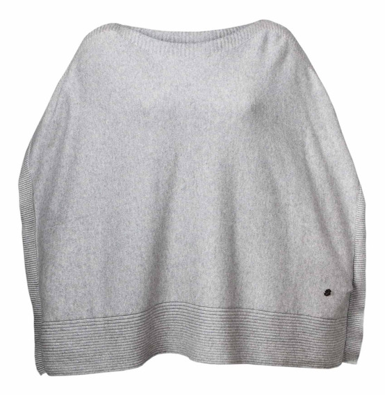 Sweater Mujer Mendoza Poncho Gris Royal Robbins By Doite