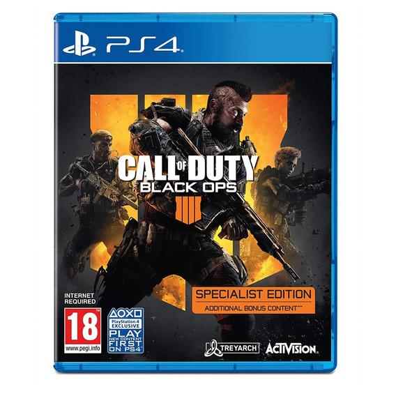Call Of Duty Black Ops 4 Specialist Edition Ps4 Lacrado Novo