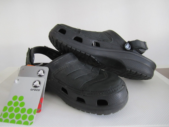 Crocs Yukon Clog Negras M8 (talle 40/41) Made In Mexico